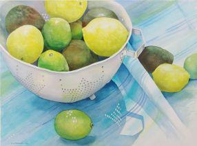 Lemons on table (reduced)