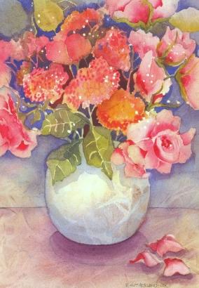 Potted Vase, Elizabeth Cox