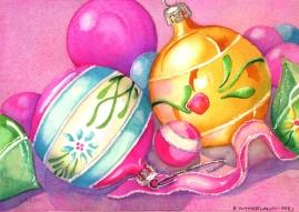 Vintage Christmas Decorations, Elizabeth Cox